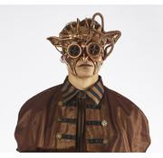 Partyline Steampunk Mask Bronze | Ive's Mask | retrofuturistic