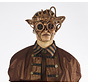Steampunk Masker Brons | Ive's Masker | retrofuturistisch
