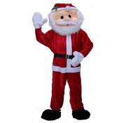 Partyline Mascotte en peluche de luxe du Père Noël | Costume de mascotte