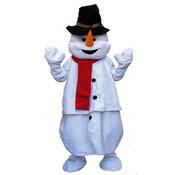 Partyline Mascotte en peluche de bonhomme de neige de luxe | Costume de mascotte