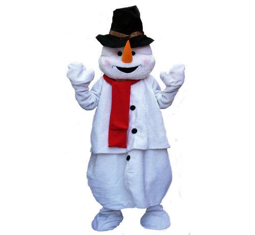 Partyline Sneeuwman Deluxe Pluche Mascot Kostuum   Mascot kostuum