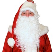 Partyline Luxurious Santa Claus wig and beard