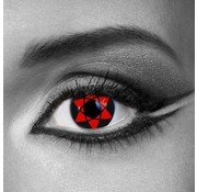 Eyecatcher Lentilles de couleur Sharingan Sasukes Mangekyu | Lentilles 3 mois