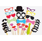 Partyline Photobooth Props | Photo accessories - party set 30 pcs