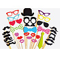 Photobooth Props | Photo accessories - party 30 pcs