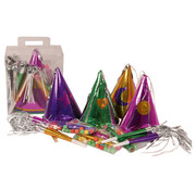 Partyline Kit Cotillons Partyline multicolores 4 personnes