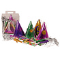 Kit Cotillons Partyline multicolores 4 personnes
