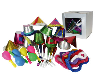 Partyline Party Package 12 people | New Year's package 3 accessories each person