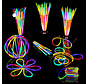 Breaklight 215st Glow in the dark Premium Tri color Party pakket - Neon breaklights- Fluo Glow Pakket