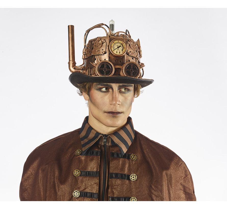 Steampunk Hat | Model Chimney | Hat retro futuristic