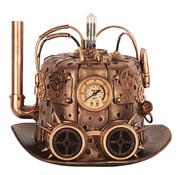Partyline Steampunk Hoed | Model Schoorsteen |  Hoed retro futuristisch