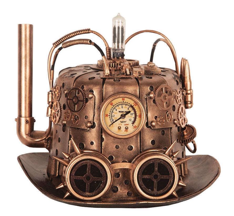 Chapeau Steampunk   Modèle Chimney   Chapeau rétro futuriste