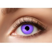 Eyecatcher Purple Gothic Party lenses | Purple Weekly Lenses
