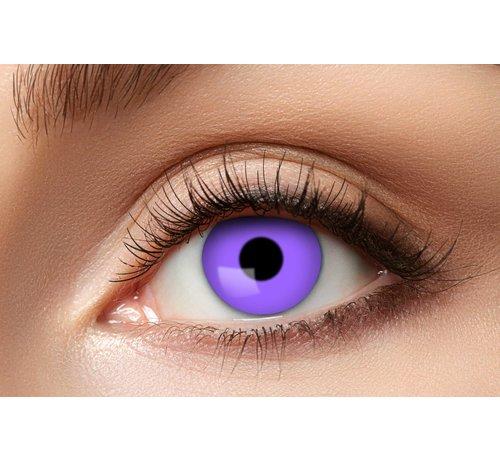 Eyecatcher Purple Gothic Party lenses | Purple Weekly Lenses
