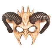 Partyline Masque vaudou oreilles du diable | Masque pour les yeux aux oreilles du diable
