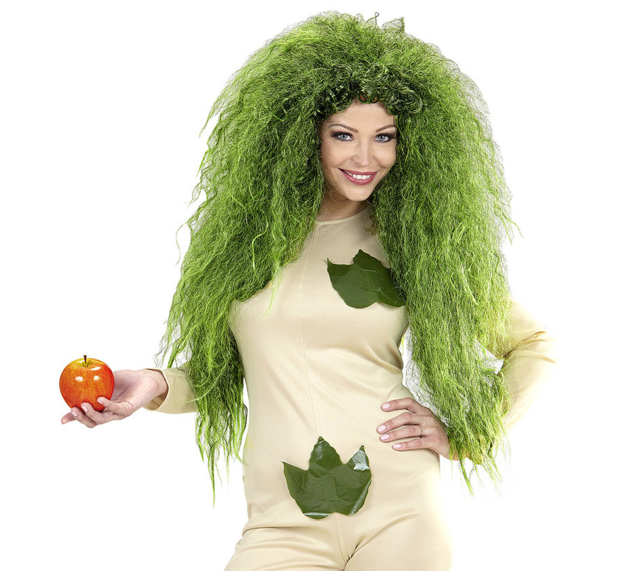 Wild Green Witch Wig | Oversized wig  | Horror wig