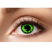 Eyecatcher Sharingan kleurlenzen Manga Green Wolf | Halloweenlenzen voor 3 maand gebruik