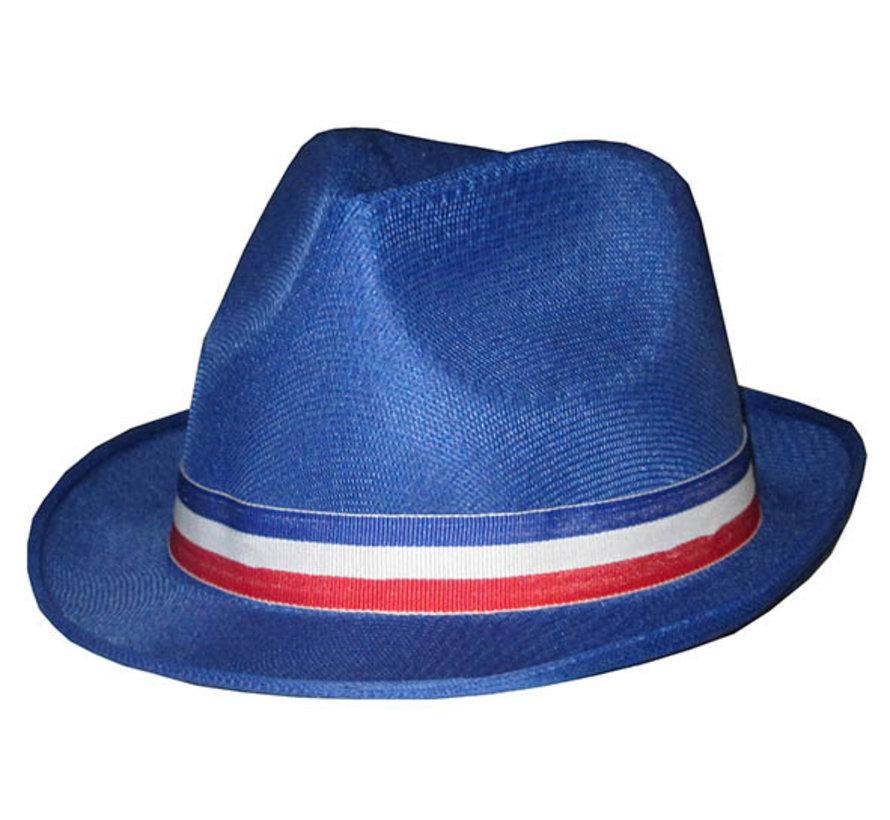 Supporters hoed Frankrijk - Funk hoed voor volwassenen