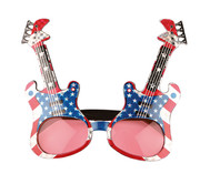Partyline American rock guitar glasses for adults