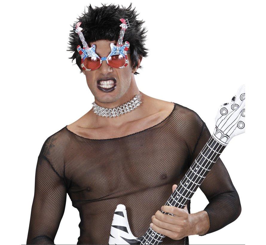 Lunettes guitare rock américaine adulte