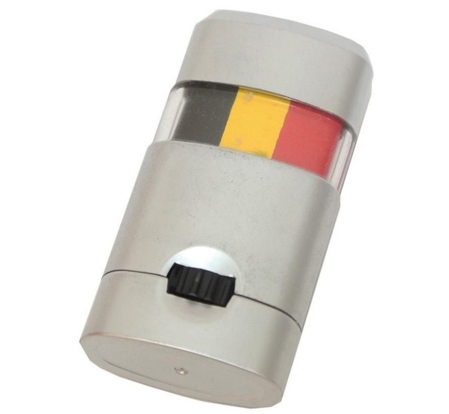 Make-up  stick zwart-geel-rood voor supporters België