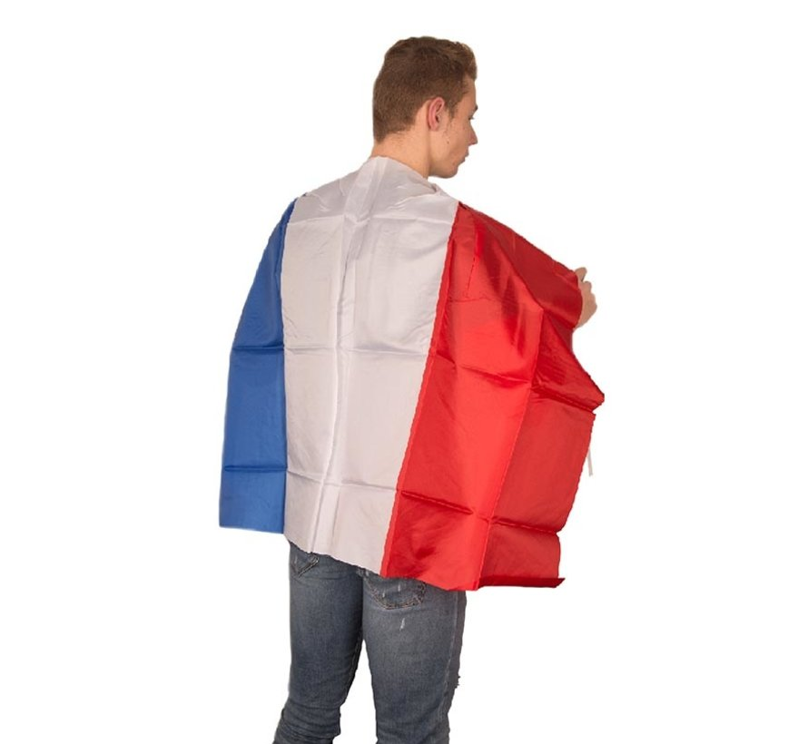 Flag cape France- Supporters Cape blue-white-red