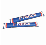 Partyline Inflatable supporter sticks France - 2 pieces