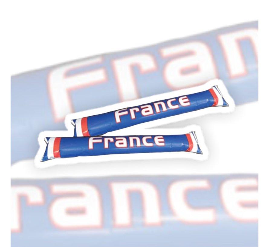 Clap Clap bâtonnets gonflable France - 2 pieces