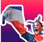 Vive la France - Allez les bleus
