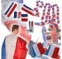 Frans supporters pakket - EK pakket met 33 supporter accessoires van Frankrijk