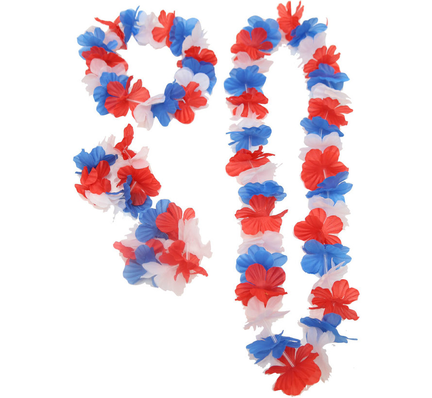 French supporters pack - Pack with 33 supporter accessories from France