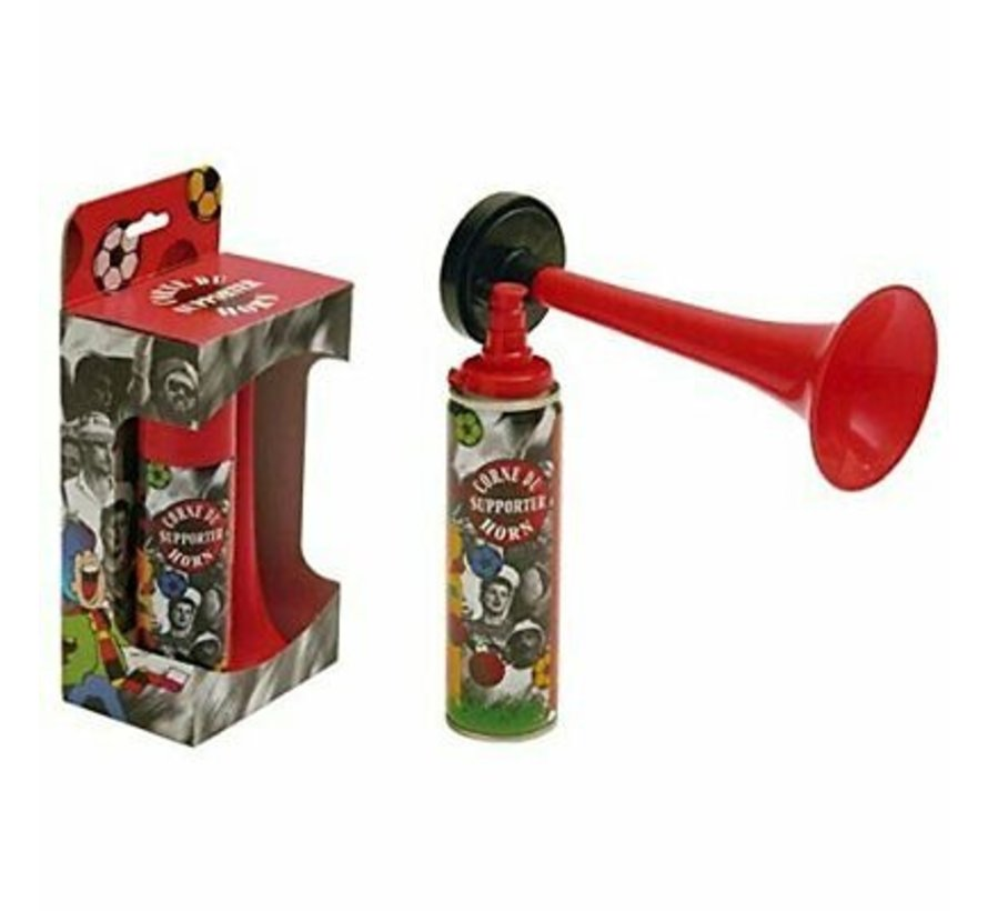 Supporter horn with gas filling - Horn with filling 70 ml - 100% fireproof