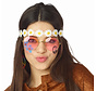 Hippie flower headband for adults - Ideal for festivals and Flower Power themed parties.