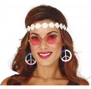 Partyline Kit d'accessoires hippie pour femme - 3 accessoires d'habillage