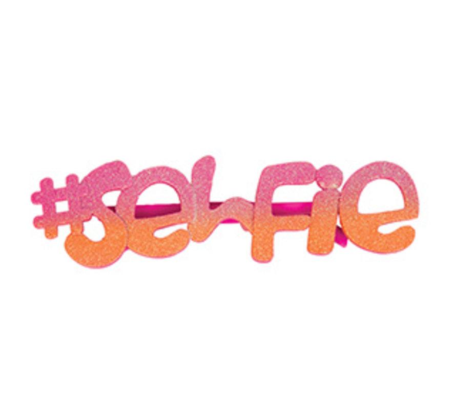 Selfie bril voor volwassenen - Ideaal om lekker op te vallen.
