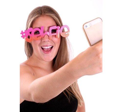 Partyline Selfie bril voor volwassenen - Ideaal om lekker op te vallen.