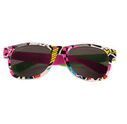 Partyline Disco retro glasses for adults