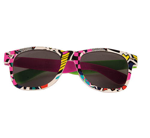 Partyline Disco retro glasses for adults, which are ideal for a disco party