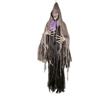 Partyline Deco Witch Hanging 180cm LED