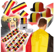 Partyline Belgian supporters package - European Championship package with 33 Belgian gadgets