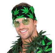 Widmann Bandana cannabis leaf for adults