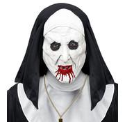 Widmann Masque horrible nonne avec coiffe  pour adulte