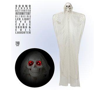 Widmann Halloween decoration Grim Reaper 240 cm with light and sound