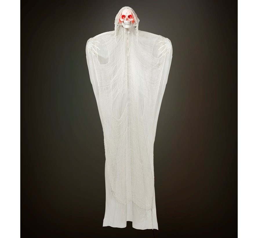 Halloween decoration Grim Reaper 240 cm with light and sound - Hanging doll sound-activated