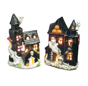 Widmann Halloween decoration haunted house candle holder - 2 pieces