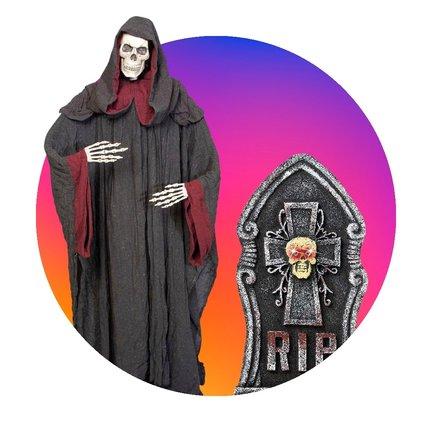 Avec les décorations d'Halloween de Breaklight.be, vous pouvez vraiment faire la fête lors de cette folle soirée costumée d'Halloween !