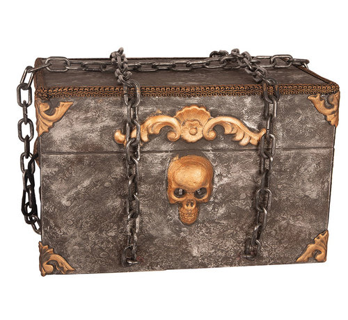 Partyline Moving Halloween Horror Box with light and sound - works on 2 X AA Batteries (  included )