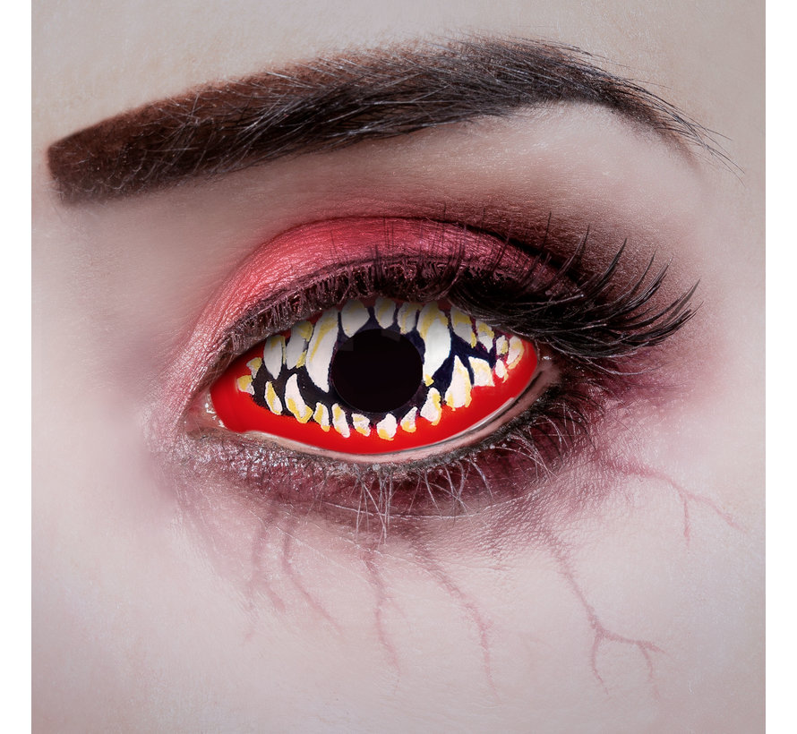 Snapped Sclera lenses 22 mm without correction - Soft annual lenses - New design 2021