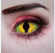 Aricona Lentilles sclérotiques Oeil de dragon 22 mm sans correction