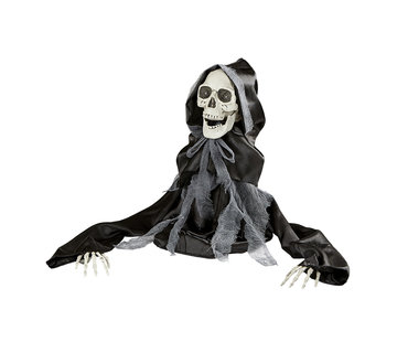 Widmann Halloween decoration moving reaper 50 cm with light and sound